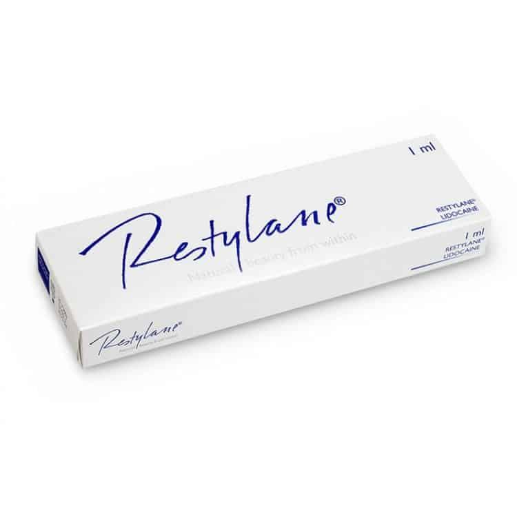 The dermal filler Restylane.