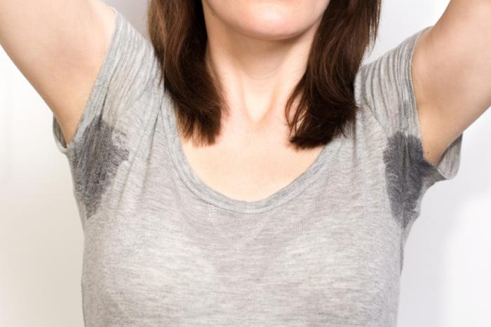 Hyperhidrosis treatment helps you avoid pesky sweat stains.