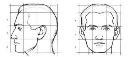 The Rule of Thirds can help determine the right time for FUE hairline restoration.*