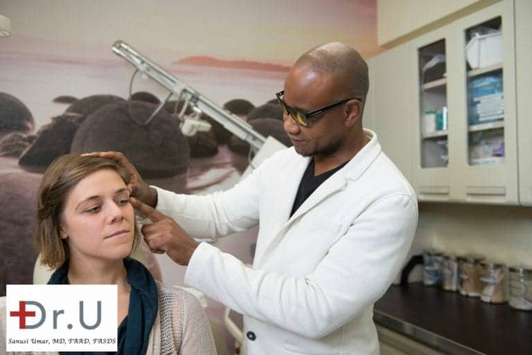 When considering the use of injectables and fillers for facial contouring, it is important to have an in-person consultation with an experienced cosmetic dermatologist.