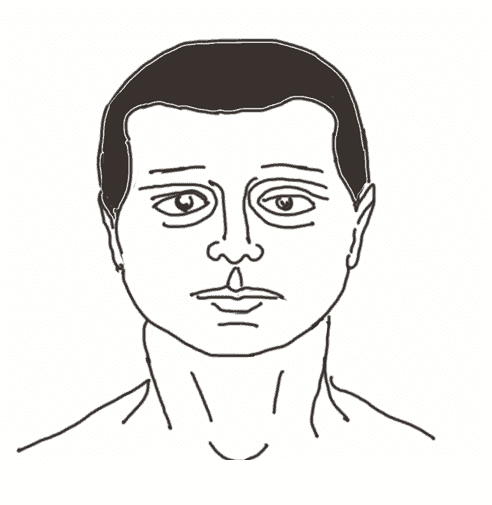 The rounded hairline works well with individuals who have oval-shaped faces.