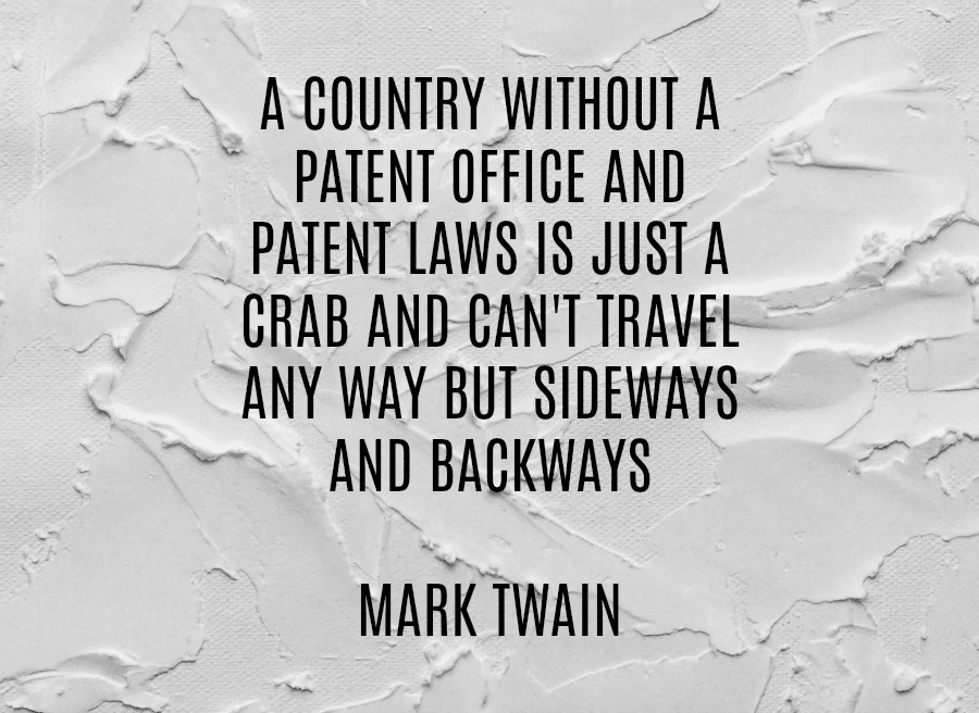 Patent laws serve to protect the rights of inventors