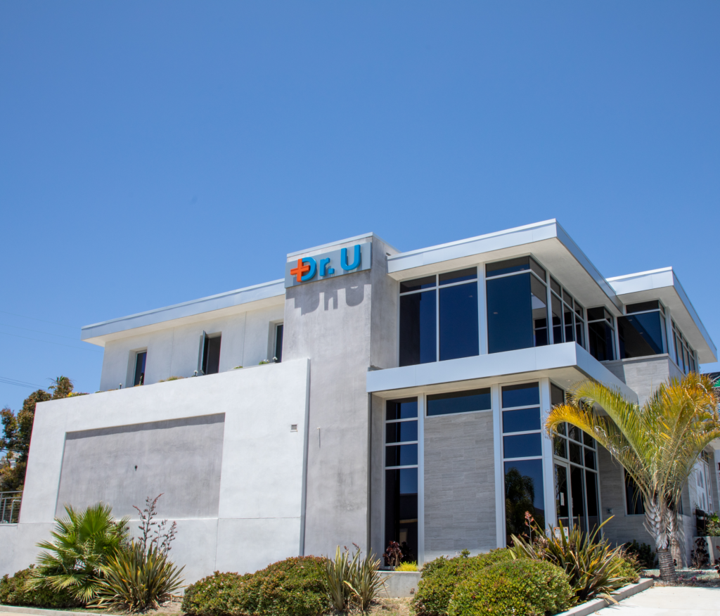 The Dr.U Hair and Skin Clinic in Manhattan Beach, CA has been ergonomically designed for a variety of patient needs and is fully prepared to allow for safe social distancing and other Covid-19 requirements