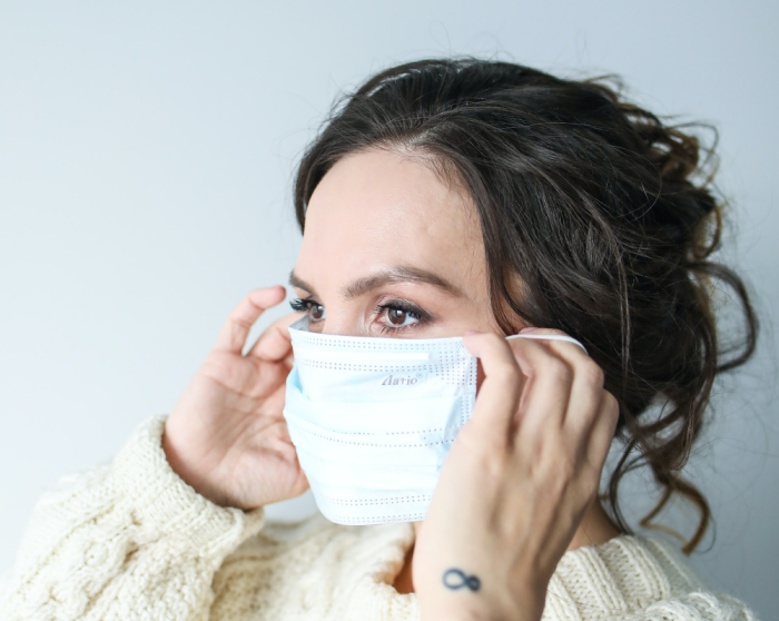 Wearing a mask helps stop prevent the spread of Covid-19