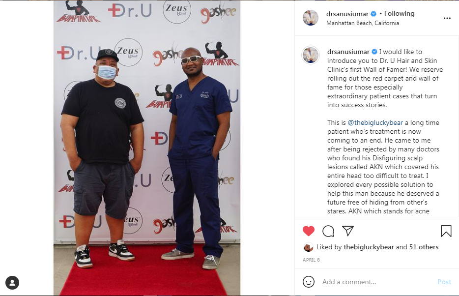 Dr.U is proud to have Robert Peeters on his Wall of Fame red carpet